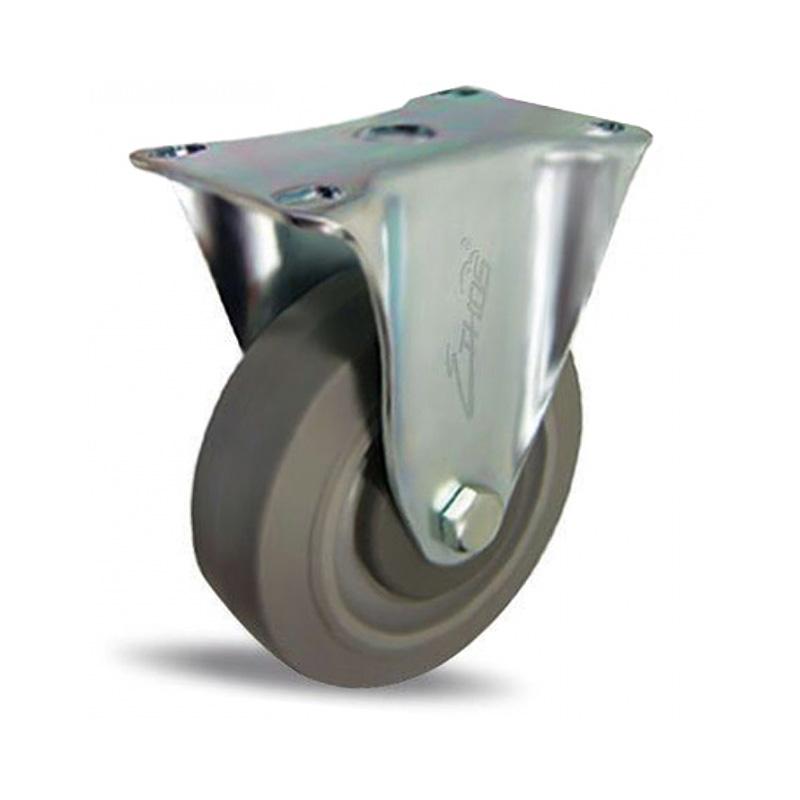 Bánh xe cao su dòng 250 tải trọng trung bình trục cố định Ethos 252EIY100P01