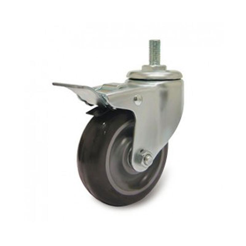 Bánh xe PU dòng 250 tải trọng trung bình Ethos 256UIY075T10