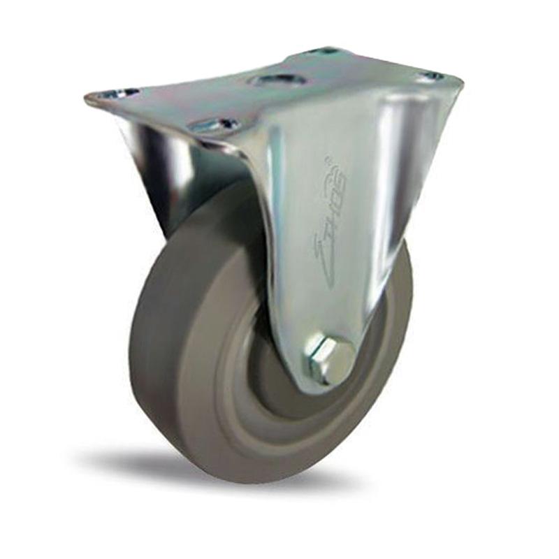 Bánh xe cao su dòng 250 tải trọng trung bình trục cố định Ethos 252EIY125P01