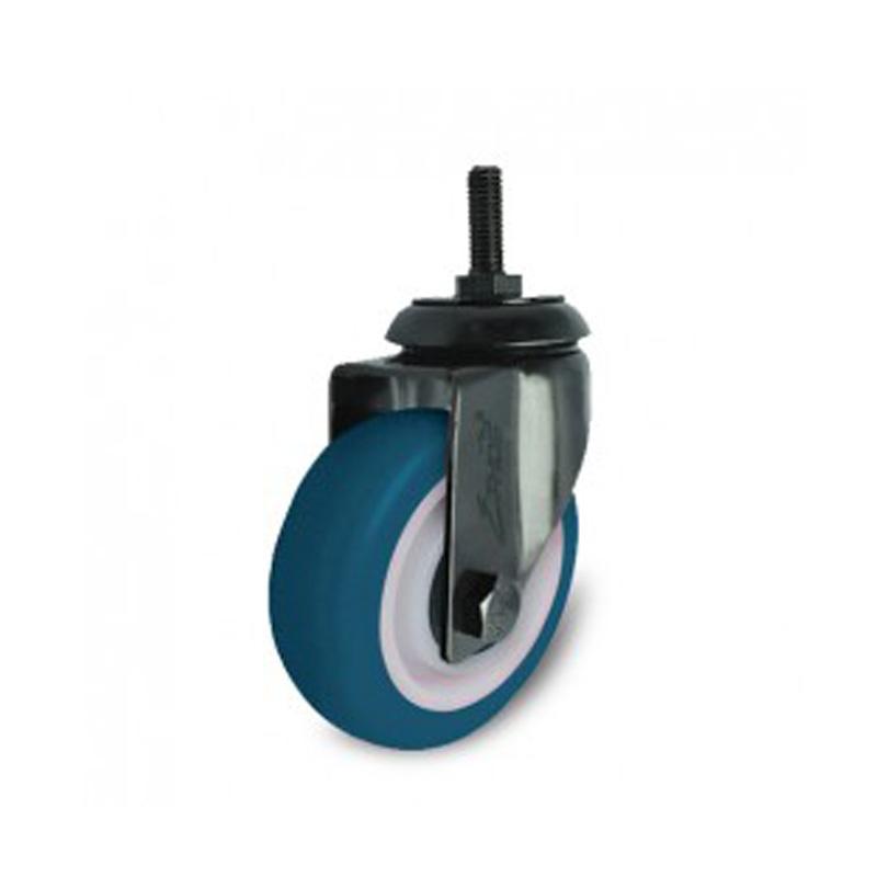 Bánh xe nhựa PU dòng 260 tải trọng trung bình trục xoay Ethos 261/271UBY150T12