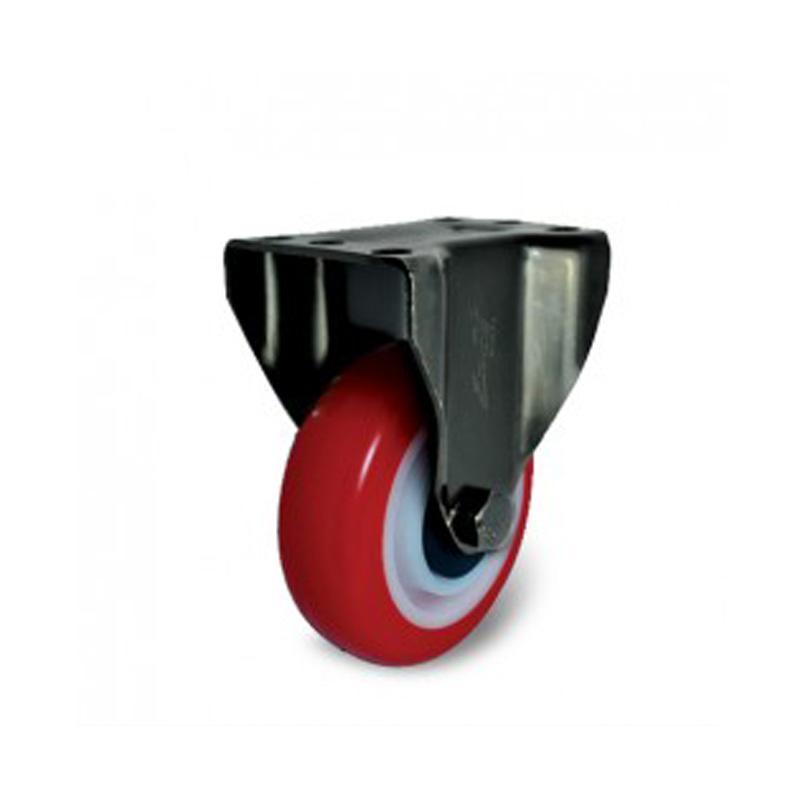Bánh xe nhựa PU dòng 260 tải trọng trung bình trục cố định Ethos 262/272URY100P01