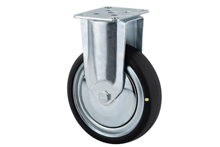 Bánh xe cao su chống tĩnh điện tải trọng trung bình trục cố định Tente 2478DYK075P40