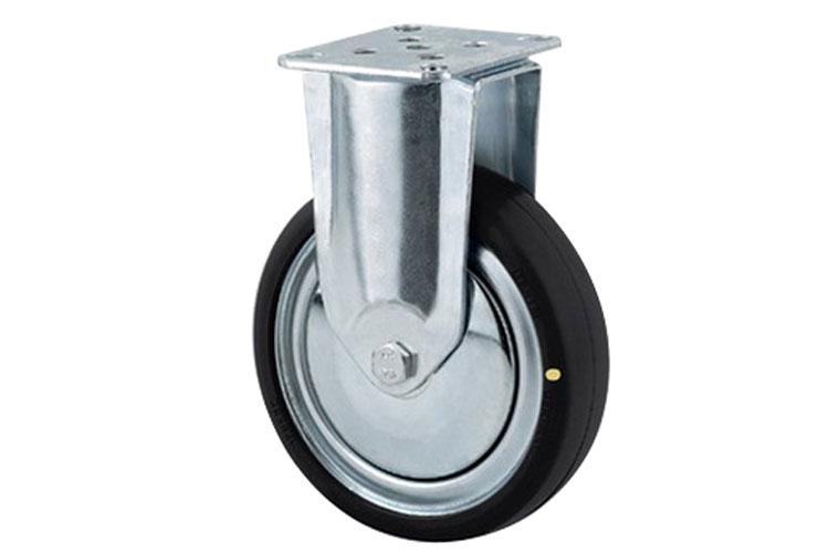 Bánh xe cao su chống tĩnh điện tải trọng trung bình trục cố định Tente 2478DYK100P50
