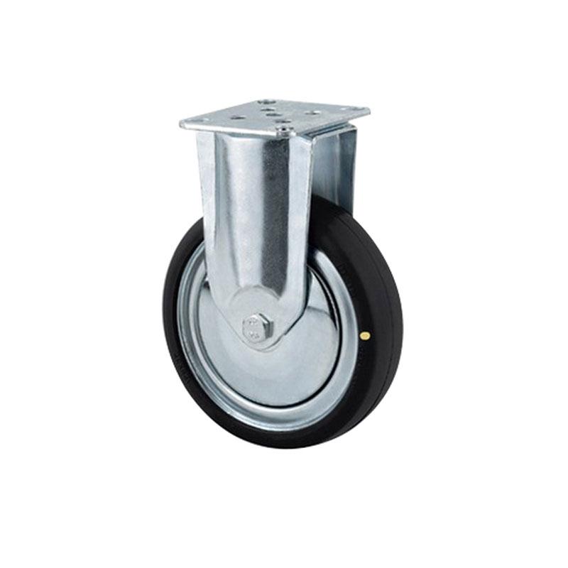 Bánh xe cao su chống tĩnh điện tải trọng trung bình trục cố định Tente 2478DYK125P50