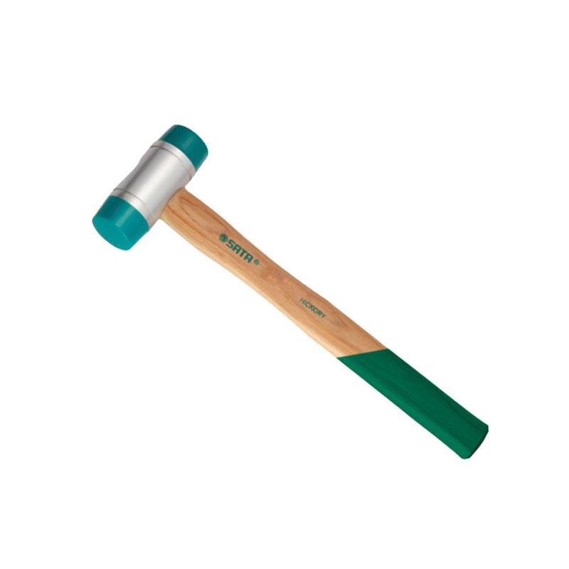 Búa cao su cán gỗ 22mm Sata 92501
