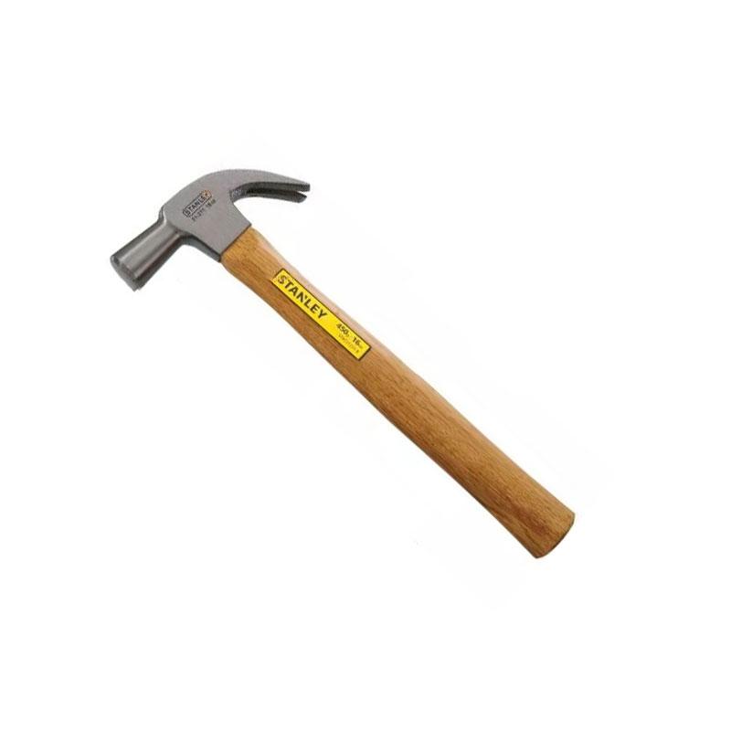 Búa nhổ đinh cán gỗ 16 oz Stanley STHT51339-8