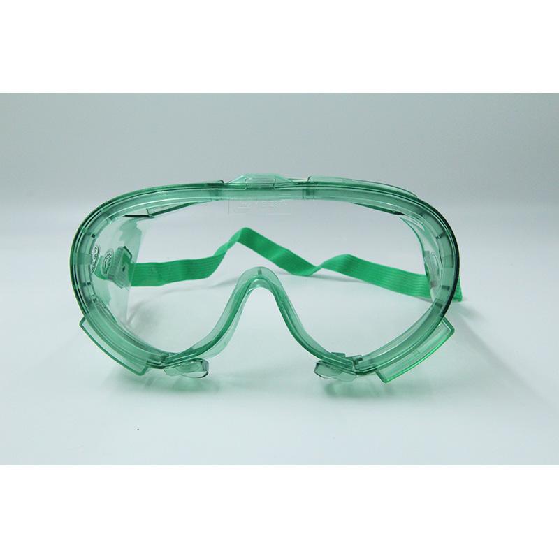 Kính bảo hộ chống bụi, hóa chất Pan Taiwan SE1112 màu xanh