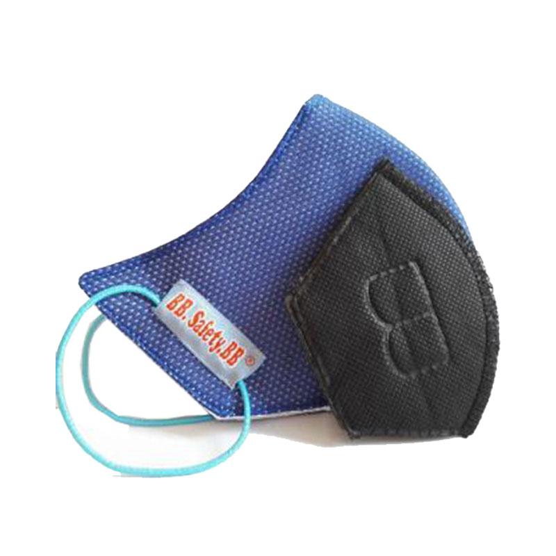 Khẩu trang lưới móc tai than hoạt tính không hộp  BB.Safety.BB 650