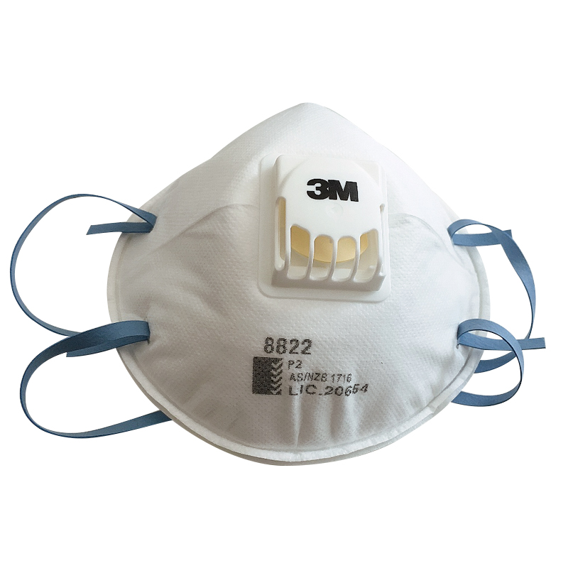 Khẩu trang lọc bụi bảo vệ hô hấp 3M 8822