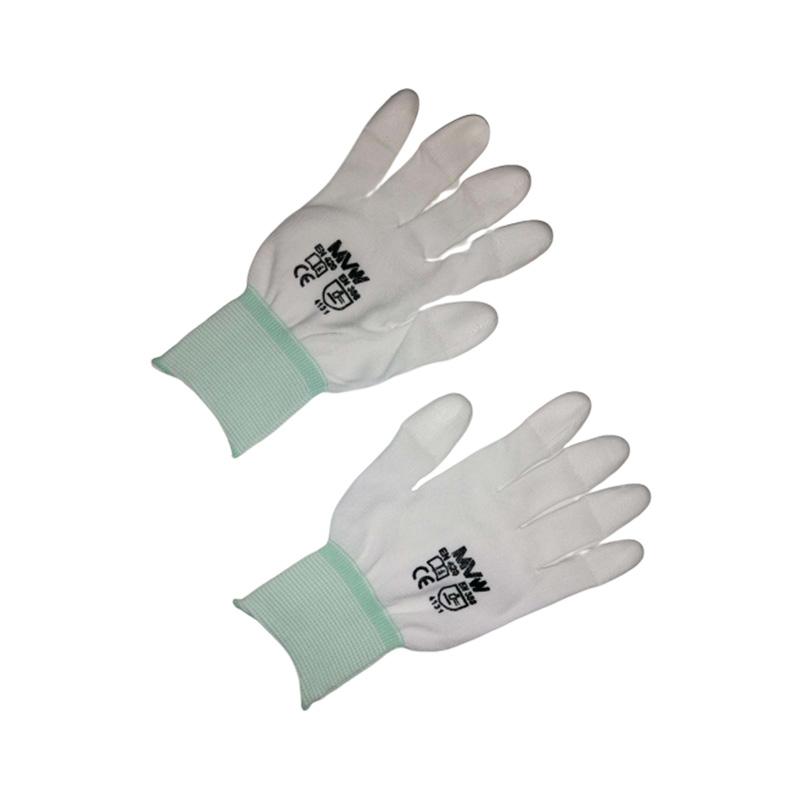 Găng tay bảo hộ MVW phủ PU đầu ngón tay MVW-WPTC-200M (SP67-ND9.2) size M