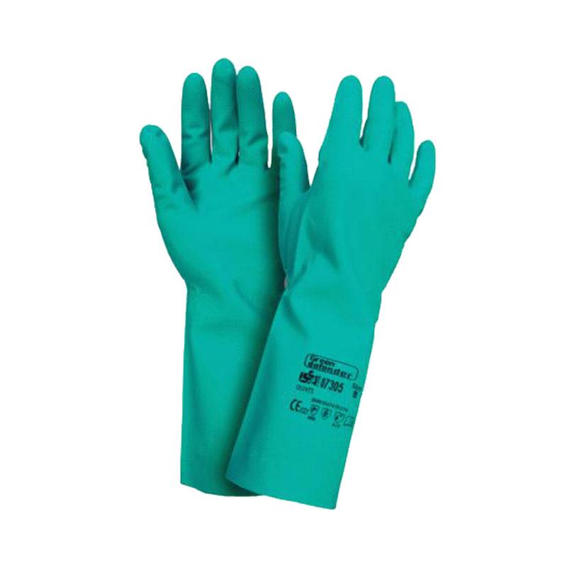Găng tay chống hóa chất dài 45cm Ansell Solvex 37-185