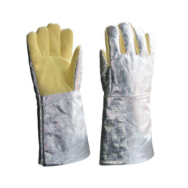 Găng tay chịu nhiệt 36cm tráng nhôm Blue Eagle AL145
