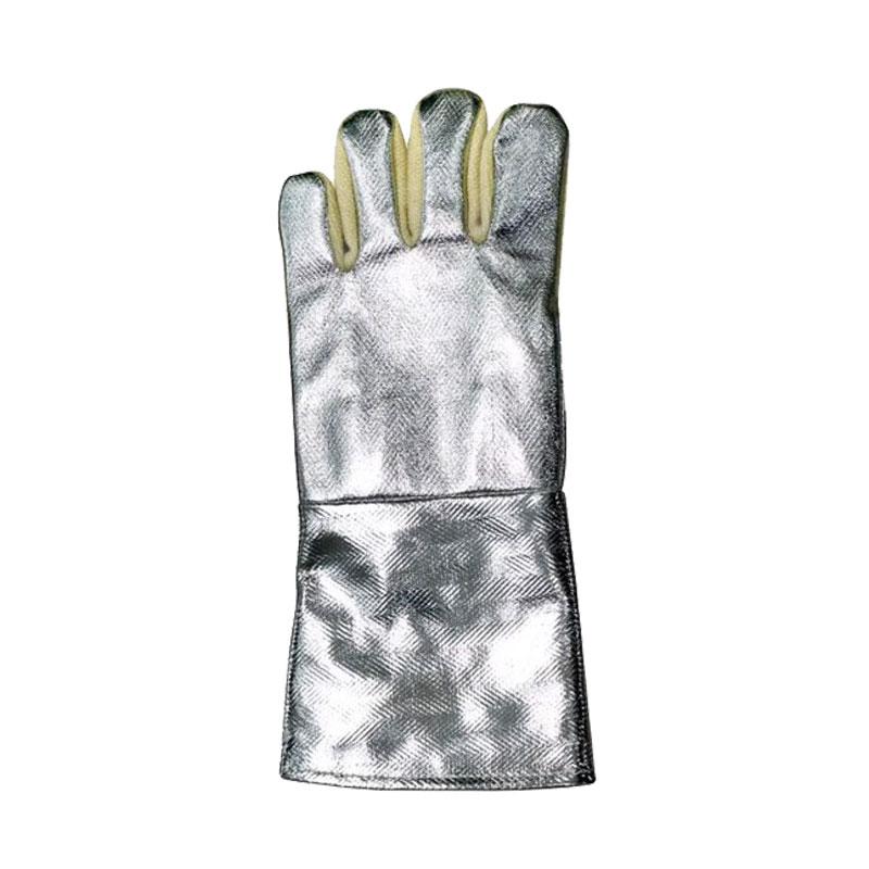 Găng tay chịu nhiệt 40cm tráng nhôm Blue Eagle AL165