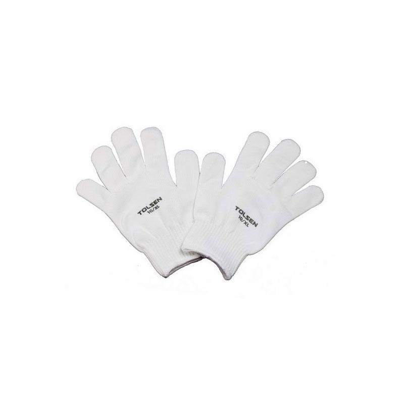 Bộ 12 bao tay vải trắng Tolsen 45002
