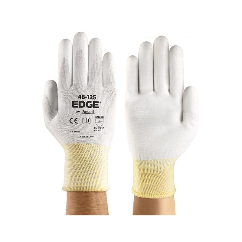 Găng tay chống cắt, chịu dầu phủ PU lòng bàn tay Ansell EDGE 48-12