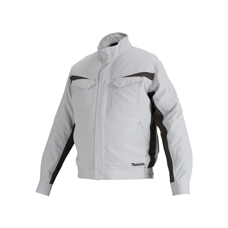 Áo khoác làm mát dùng pin Makita DFJ213Z màu xám đen