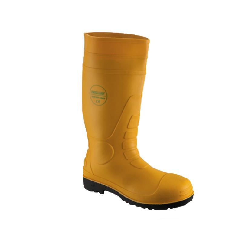 Ủng cao su đế và mũi bằng thép tiêu chuẩn S5 PROGUARD R219MSTC - Yellow
