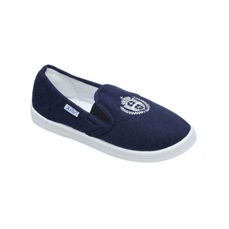 Giày vải bata cột dây nam xanh ASIA M003Z