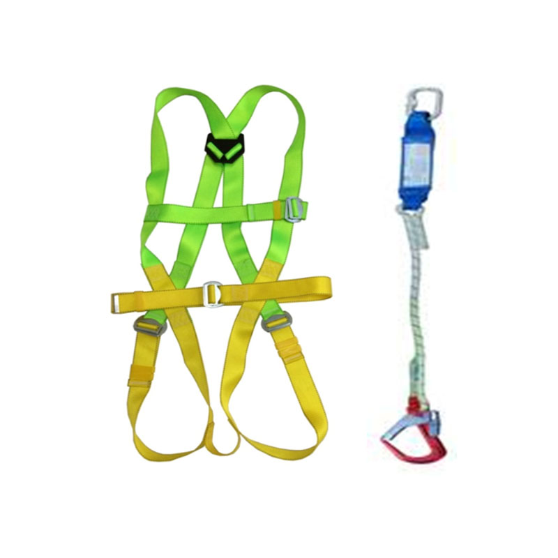 Dây an toàn toàn thân và dây treo giảm sóc 1 móc nhôm ADELA H4501+EW71051