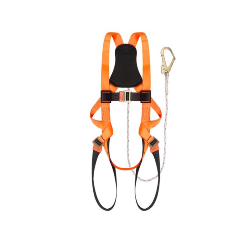 Dây đai an toàn toàn thân một móc khóa màu cam PROGUARD PG141060-OB