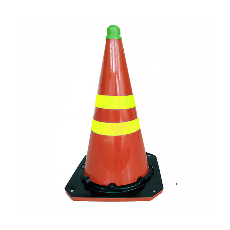 Cọc giao thông nhỏ phản quang dẻo 2 sọc BB.Safety.BB GT.53