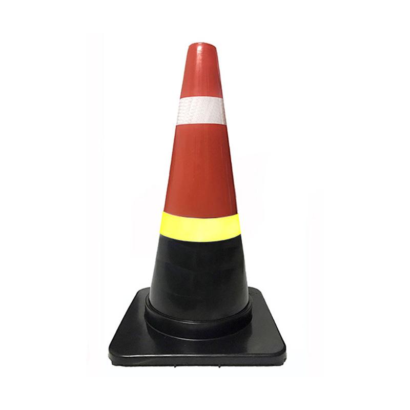 Cọc giao thông đế đen nhựa cứng 70 cm BB.Safety.BB GT.70 Đ
