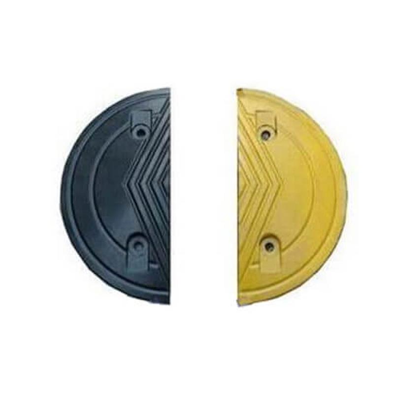 Đầu gờ giảm tốc cao su 175x350x50mm KBS kèm phụ kiện