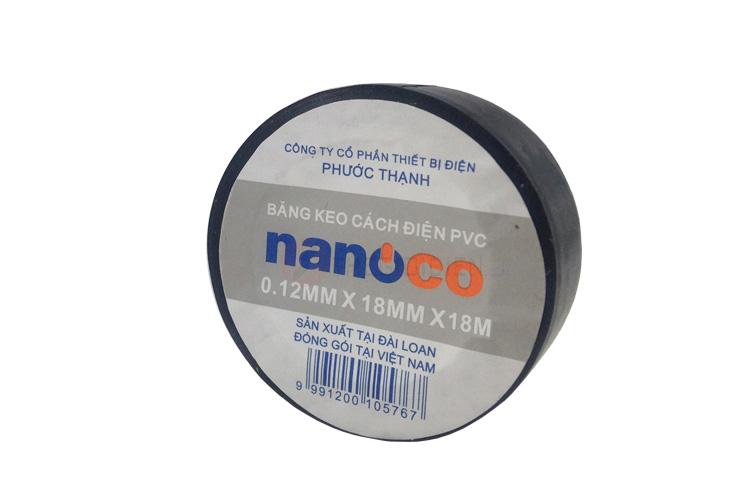 Băng keo cách điện 18m NANOCO FKPT20