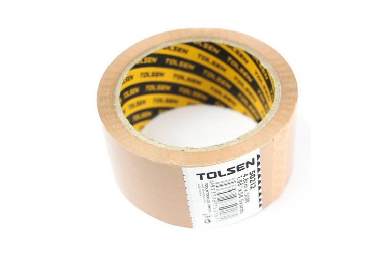 Băng keo vàng 50m Tolsen 50212