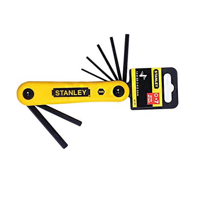 Bộ khóa lục giác 7 chi tiết 1.5-6mm Stanley 69-261