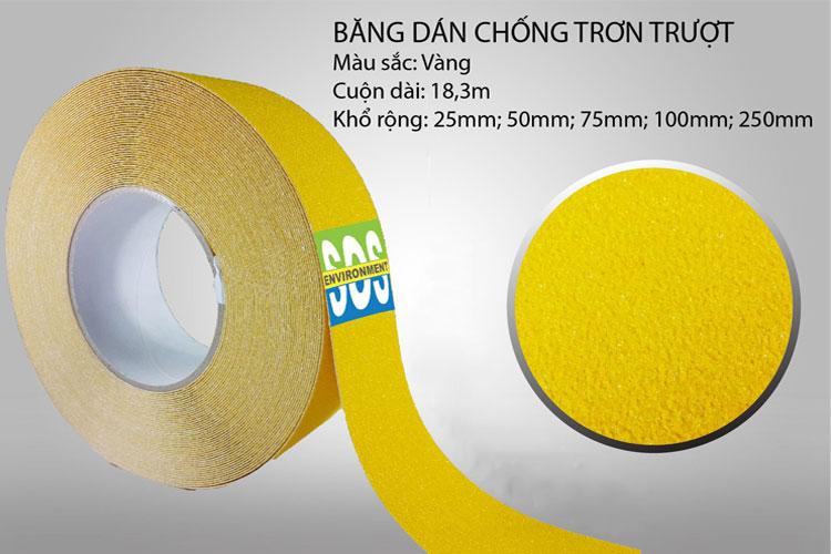 Băng keo 20mm x 50m màu vàng 3M BK244-20