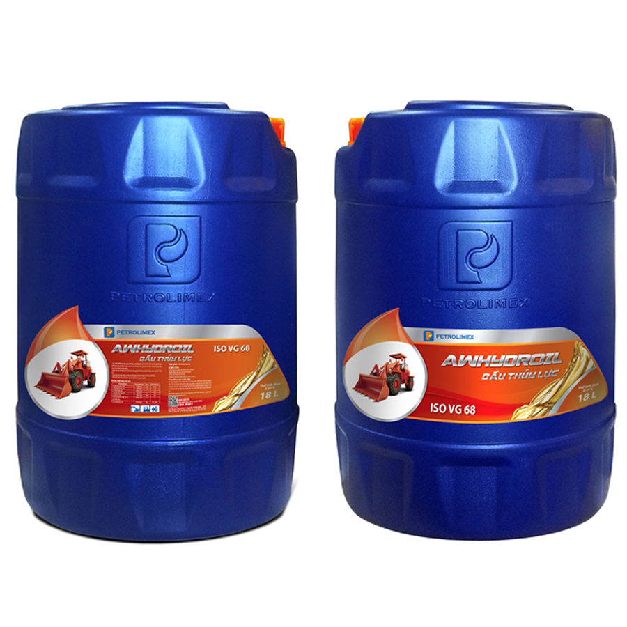 Dầu thủy lực Petrolimex AW Hydroil 68 - Thùng 18L