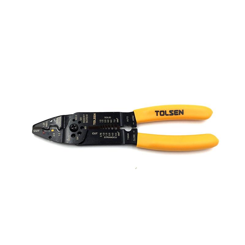 Kìm tuốt dây đa năng 215mm Tolsen 38052