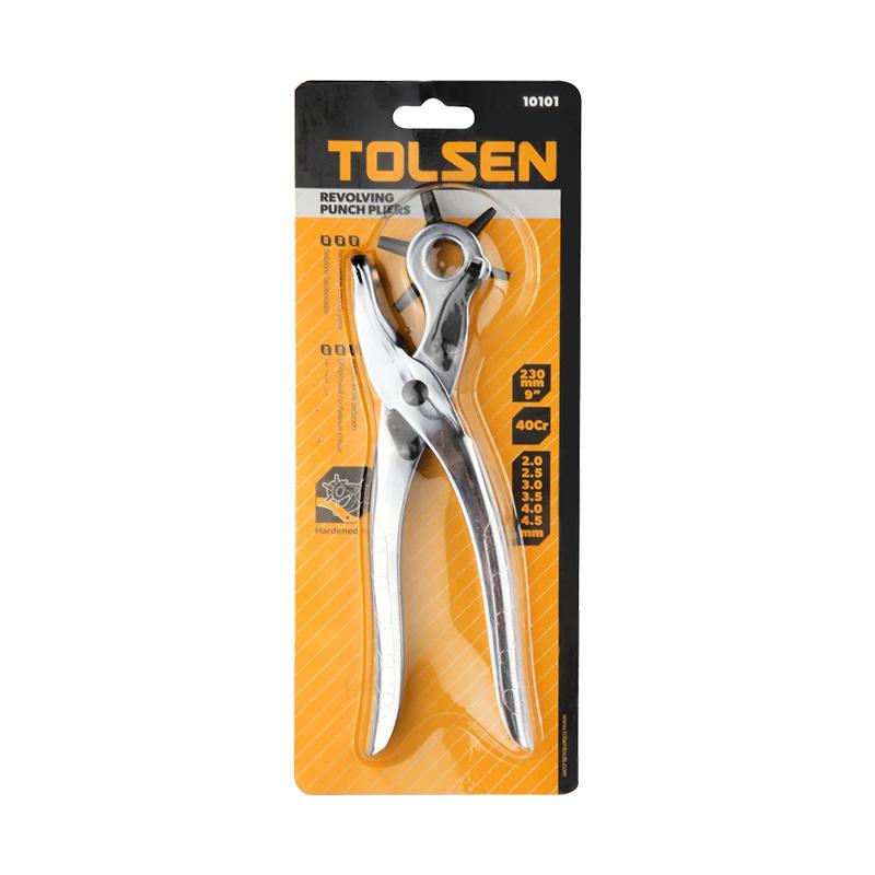 Kềm bấm lỗ 9 inch 220mm Tolsen 10101