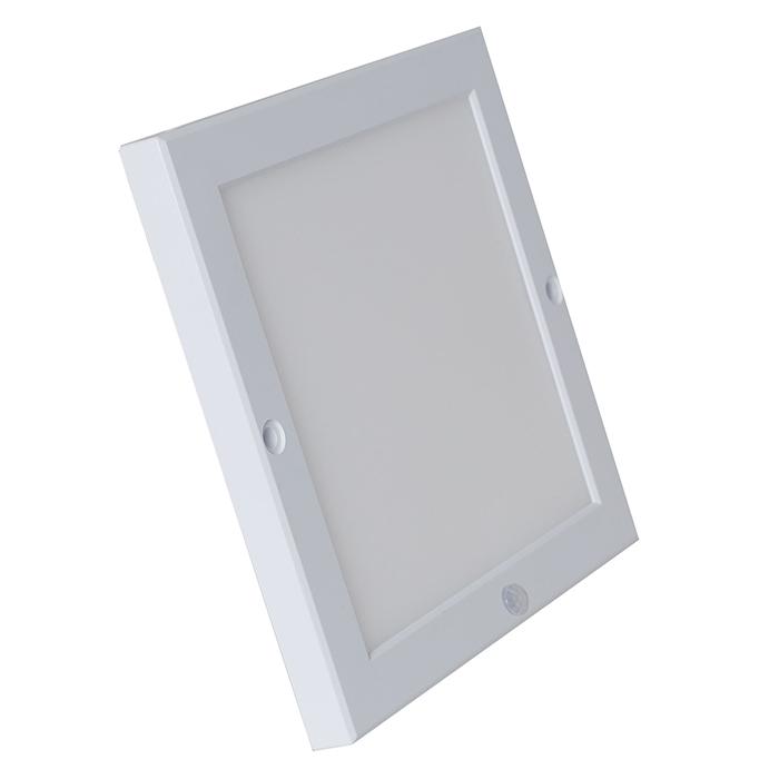 Đèn LED Ốp trần Mỏng Vuông Cảm biến 18W
