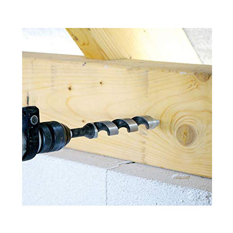 Mũi khoan gỗ xoắn ốc 20mm khoan sâu 220 mm Heller 15489 5