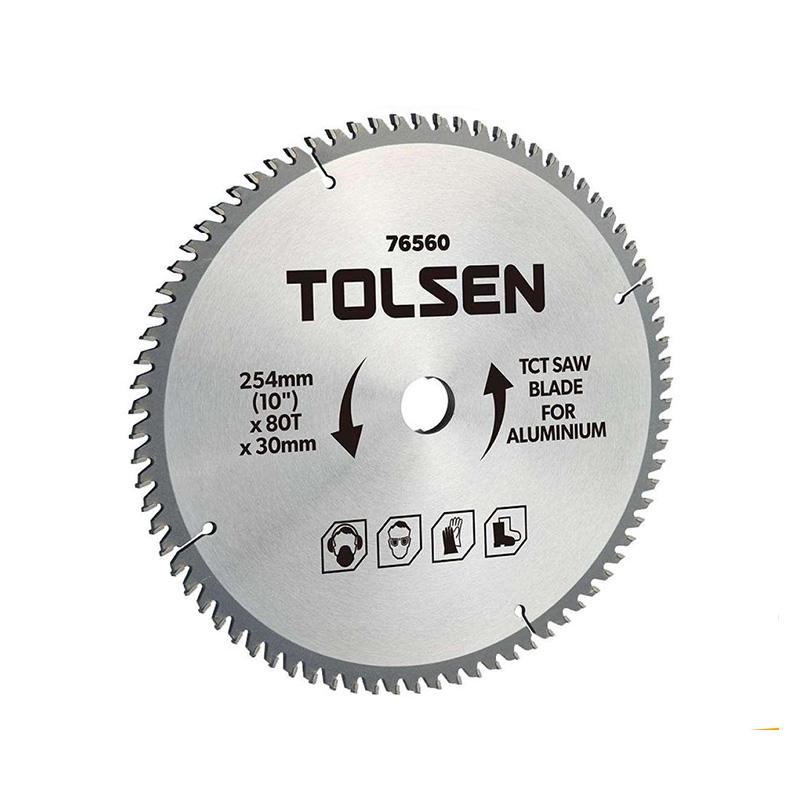 Đĩa cắt gỗ 80 răng 254mm Tolsen 76560