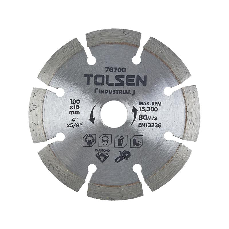 Đĩa cắt gạch khô 100mm Tolsen 76700