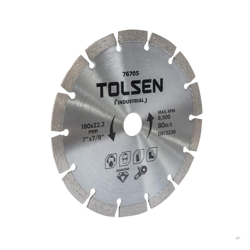 Đĩa cắt 180×22.2mm Tolsen 76705