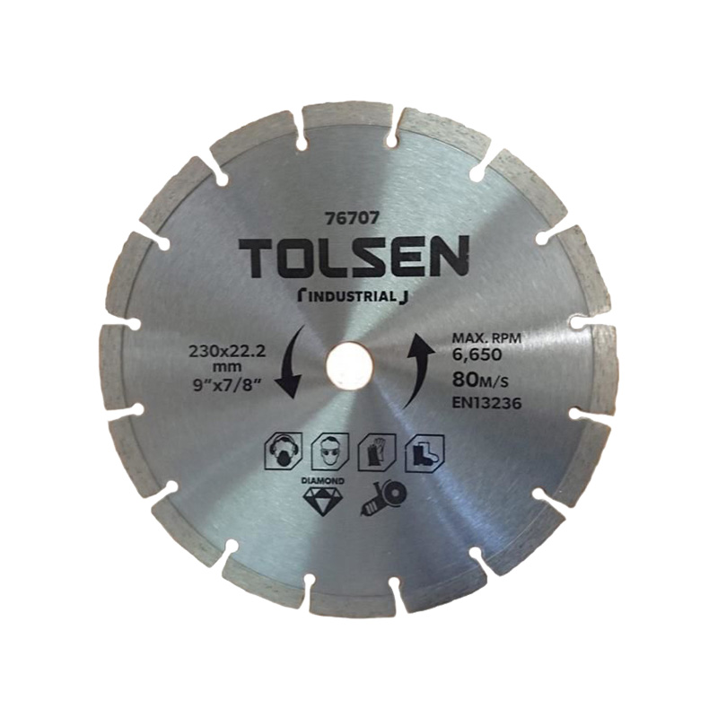 Đĩa cắt 230×22.2mm Tolsen 76707
