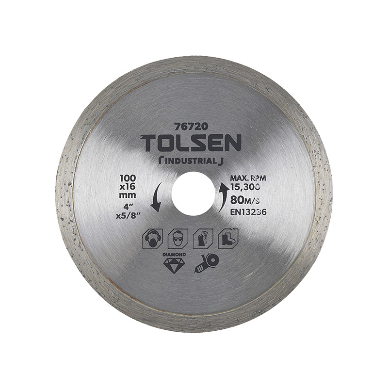 Đĩa cắt gạch ướt 100mm Tolsen 76720