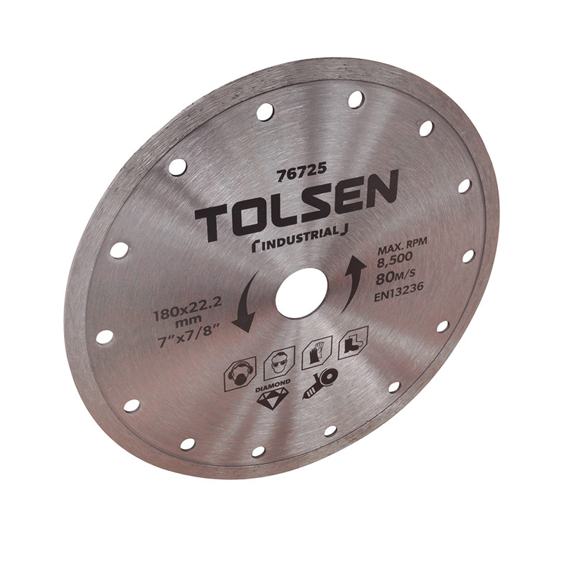 Đĩa cắt 180×22.2mm Tolsen 76725