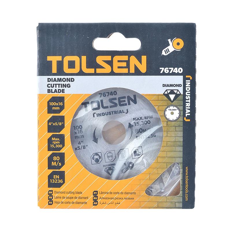 Đĩa cắt đa năng 100mm Tolsen 76740