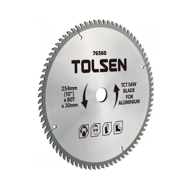 Đĩa cắt gỗ 40 răng 254mm Tolsen 76460