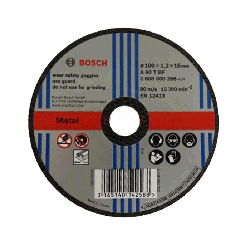 Đá cắt sắt 100x1.2x16mm BOSCH 2608600266