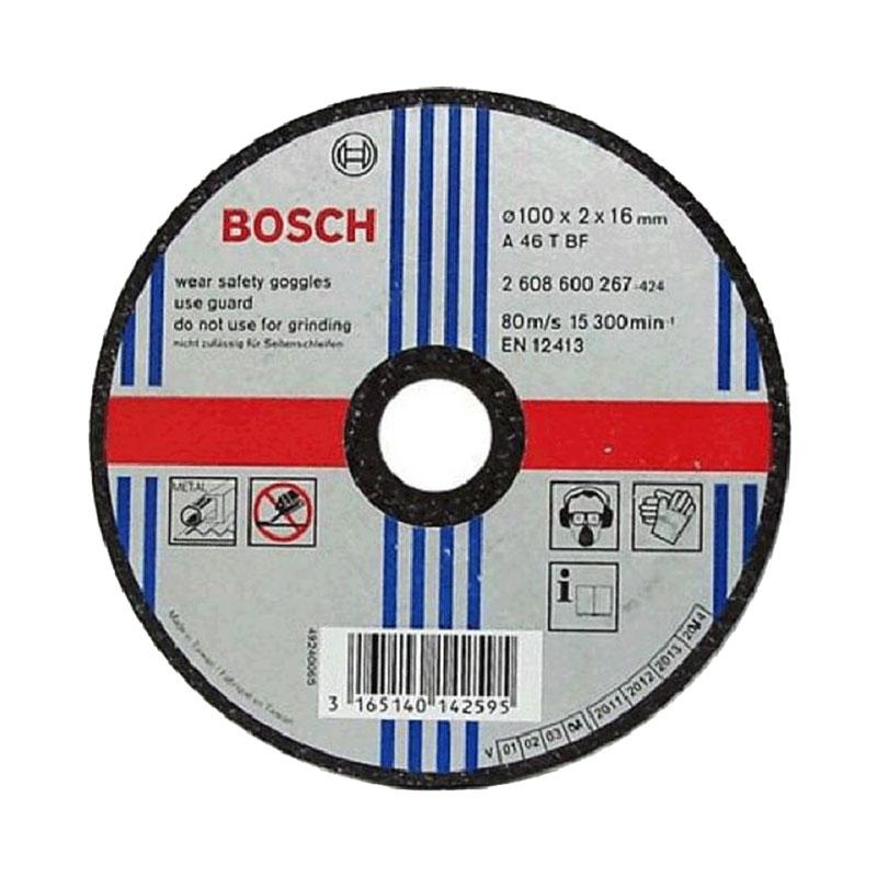 Đá cắt sắt 105x1.2x16mm BOSCH 2608603412