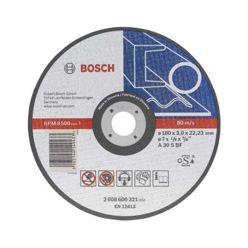 Đá cắt sắt 180x3x22.2mm BOSCH 2608600272