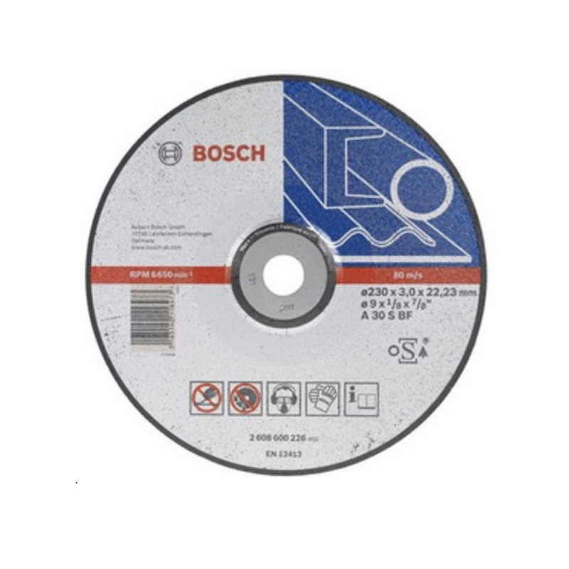 Đá cắt sắt 230x3x22.2mm BOSCH 2608600274