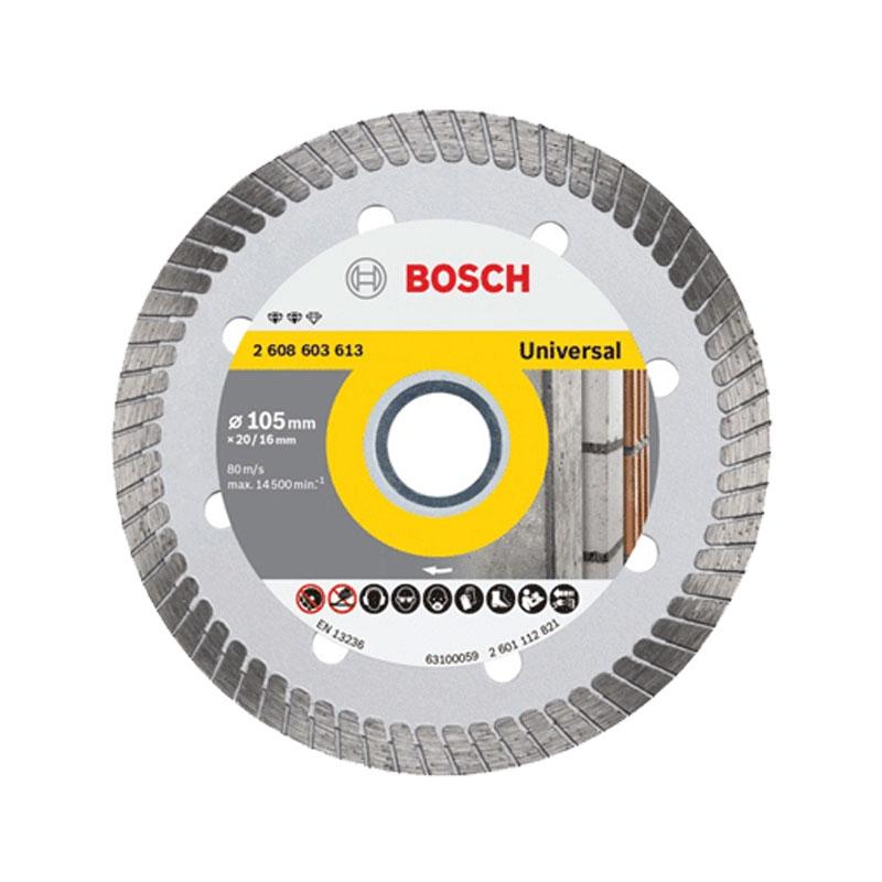 Đĩa cắt kim cương Turbo 105x16mm BOSCH 2608603613