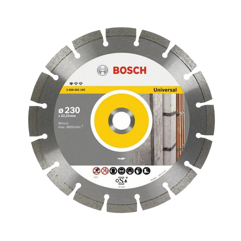Đĩa cắt kim cương đa năng 230x22.2mm BOSCH 2608602195